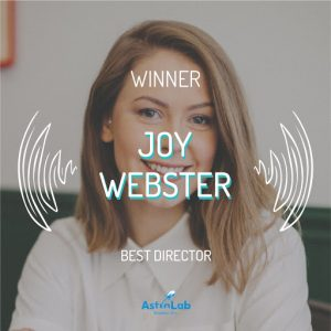 Joy Webster Best DIrector